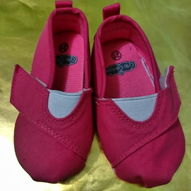 Crib Couture Hot Pink Shoes