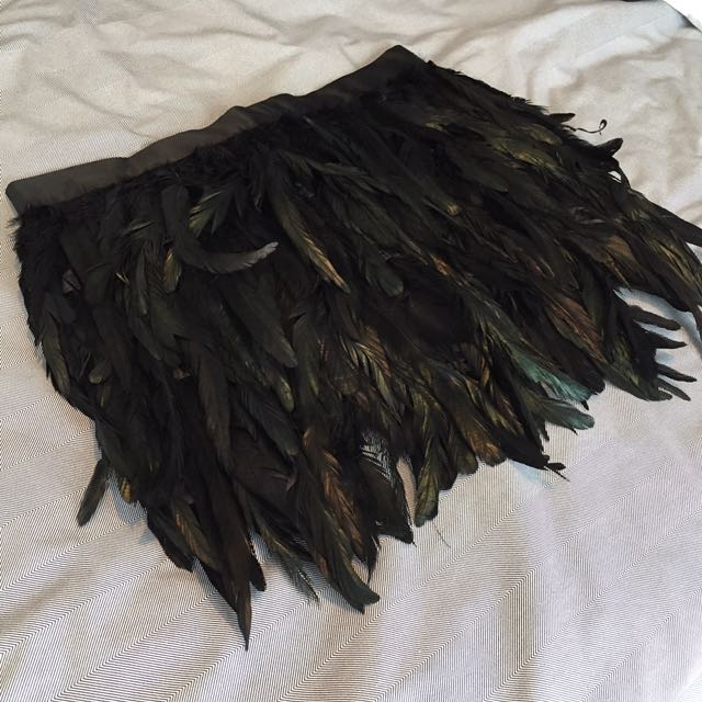Custom Made Feather Skirt