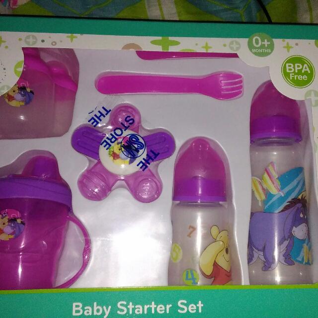 (New) Disney Baby Starter Set Violet