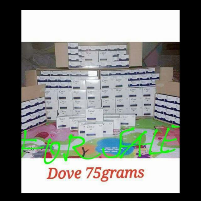 Dove Soap Plain White