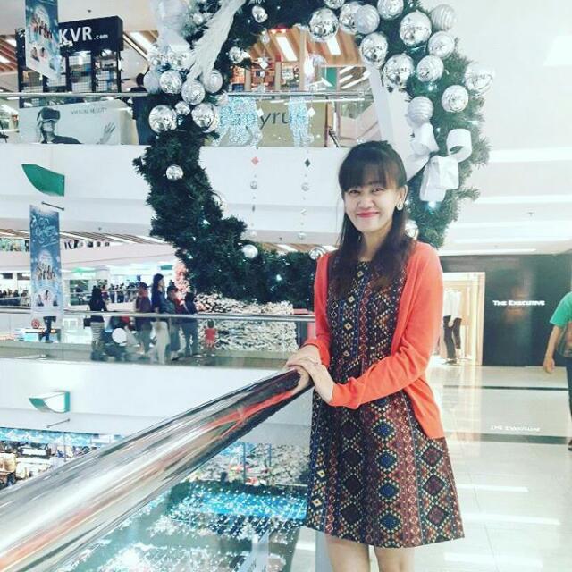 Dress Batik, Etnik. Ukuran M.
