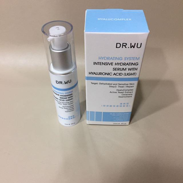 Dr.Wu 玻尿酸保濕精華液 清爽型