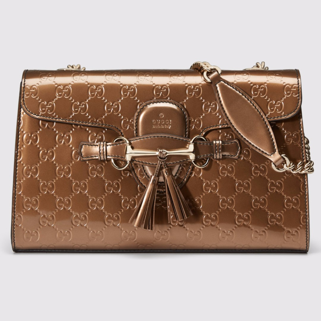 Emily Guccissima leather shoulder bag
