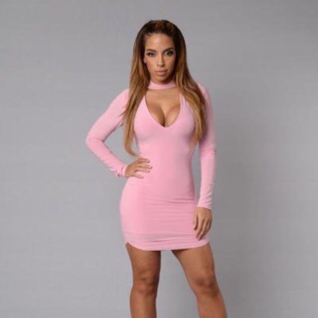 Fashion Nova Layla Dress Size Small