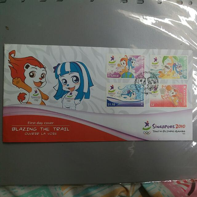 FDC (First Day Cover) for Youth Olympic Games (YOG)