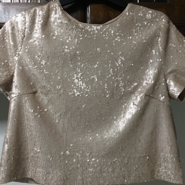 Forever 21 Sequin Shirt