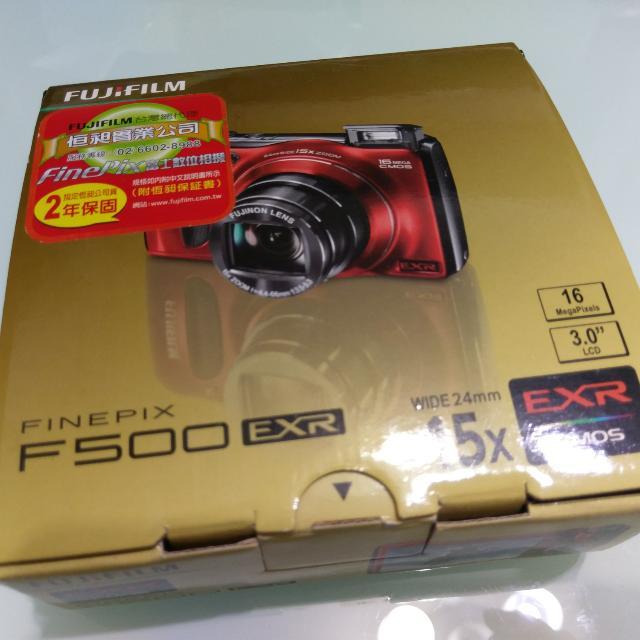 Fujifilm FinePix F500EXR 小鋼砲數位相機 紅