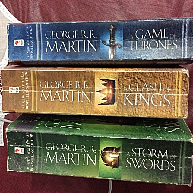 Game Of Thrones Book 1,2&3 only