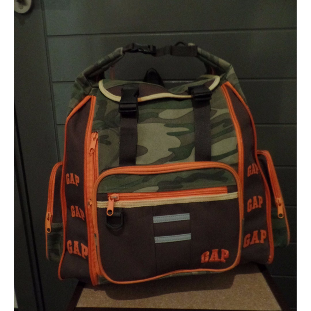 Gap Camouflage Back Pack