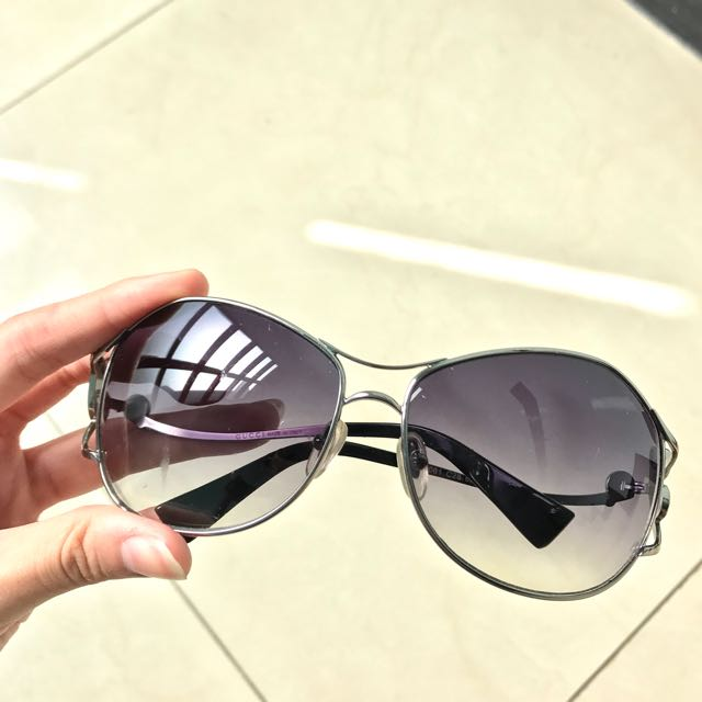Gradation Purple Sunglasses