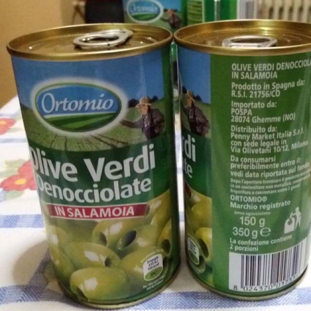 Green & Black Olives In Brine 150grms