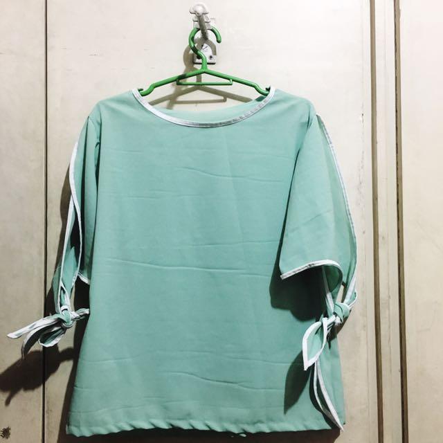 Green Cute Top
