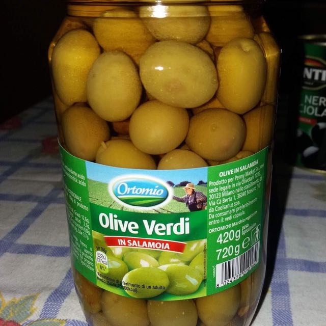Green Olives In Brine 420grms