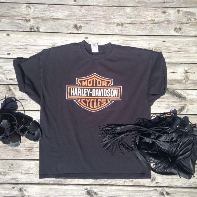 Harley Davidson T-Shirt Dress