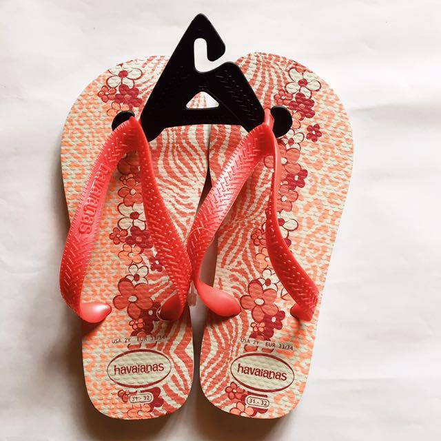Havaianas Kids Slippers: PINK