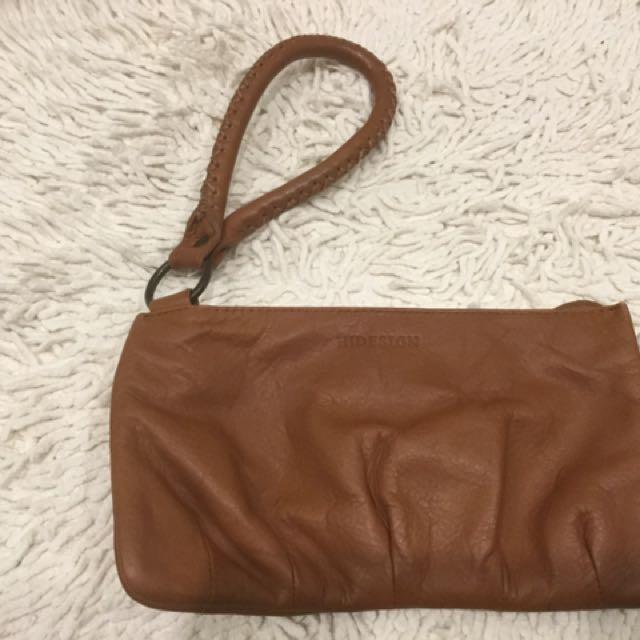 Hidesign Leather Clutch Bag