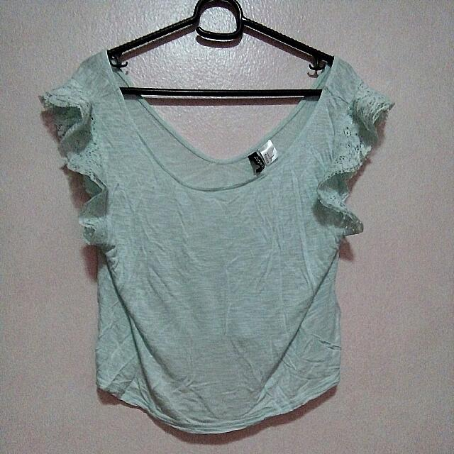H&M Top (Mint Green)