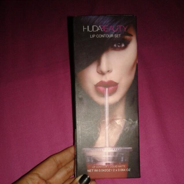Huda Beauty Lip Contour ( Lipstick Huda Beauty ) Reprice ! Turun Harga
