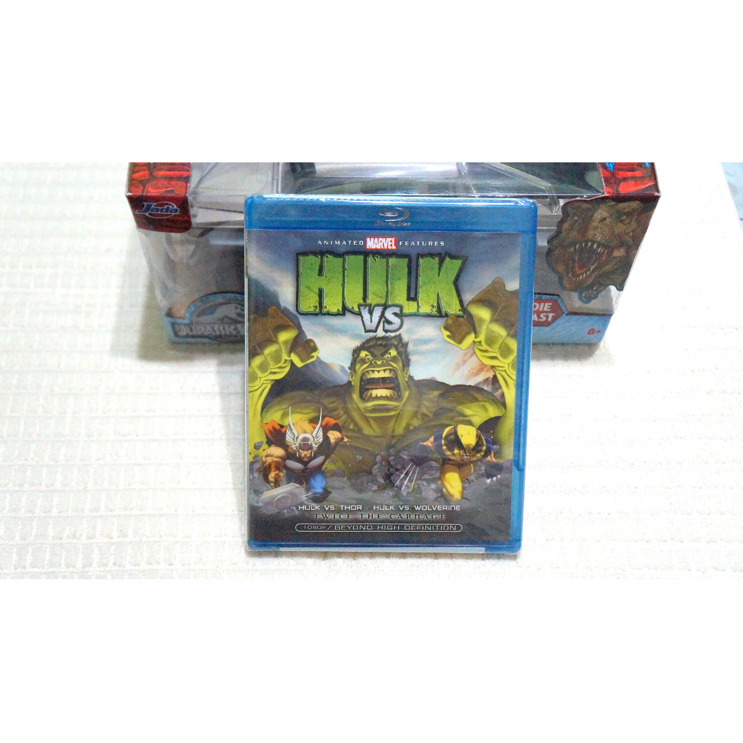 Hulk vs. (blu-ray, US, Region A)