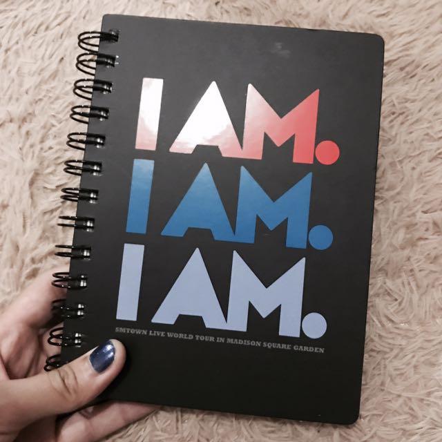 I AM 空白筆記本