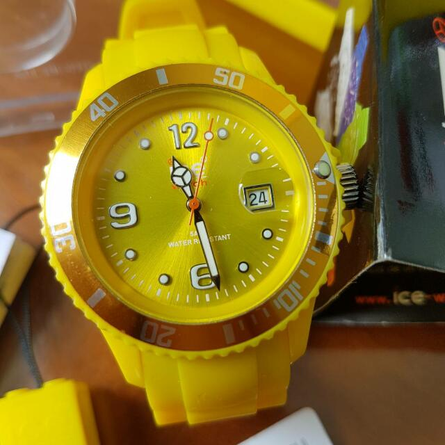 Ice Watch Seri Ice Forever Yellow Medium