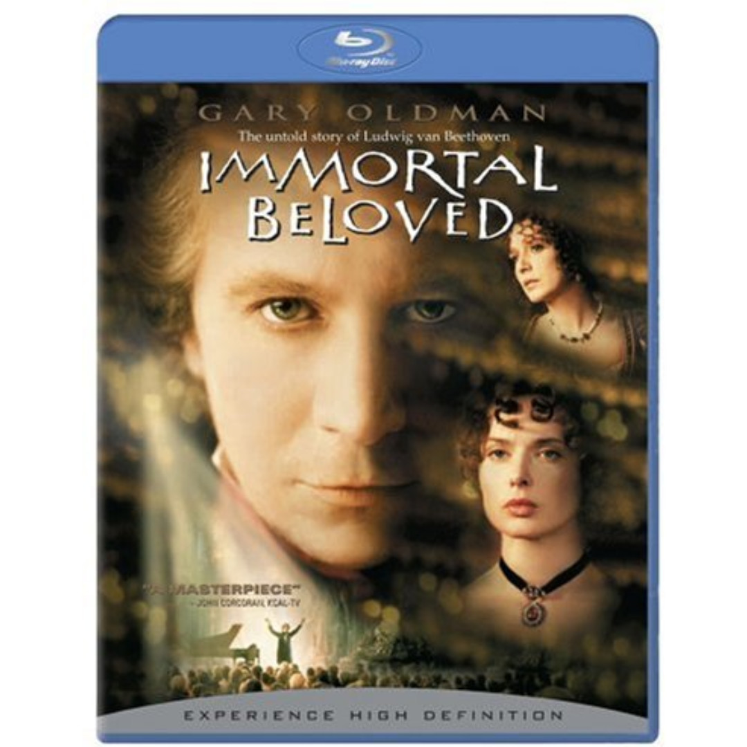 Immortal Beloved (blu-ray, US, Region A)