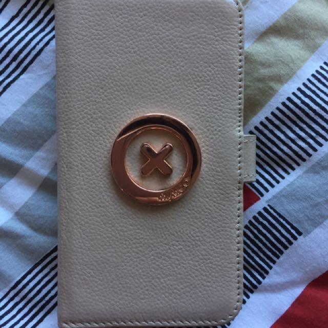 iphone 6 6s mimco case beige