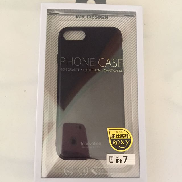 detailed look bf0ec 79cae iPhone 7 phone case WK design