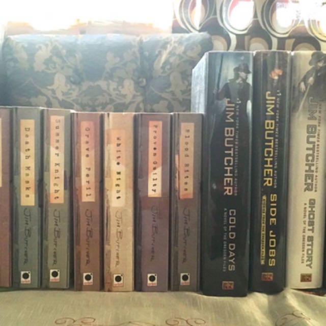 Jim Butcher Books