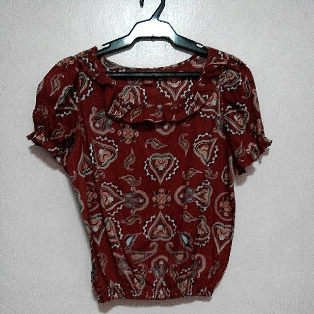 Juana Blouse (Red)