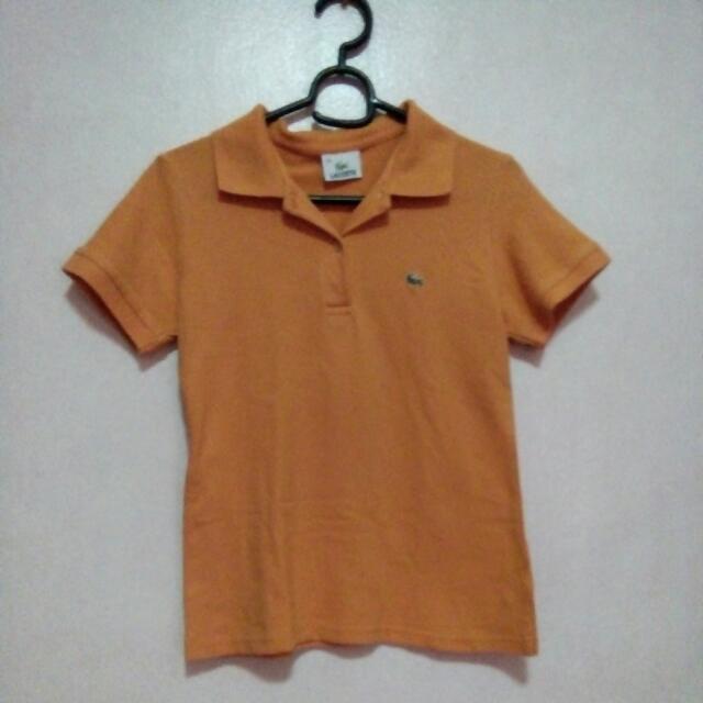 Lacoste Polo (Orange)