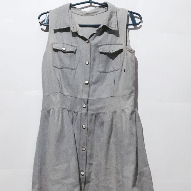 Lightwash Denim Dress