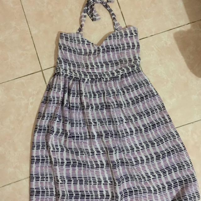 LOVE Halter Dress