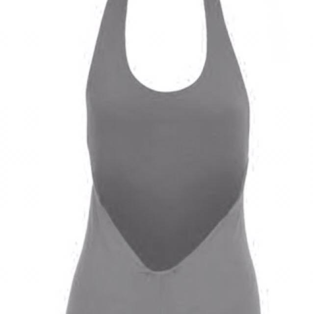 Low Back Halter Bodysuit