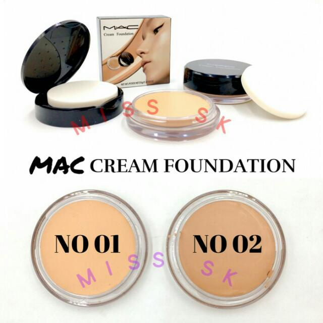 Mac Cream Foundation Compact - Bedak Padat Mac