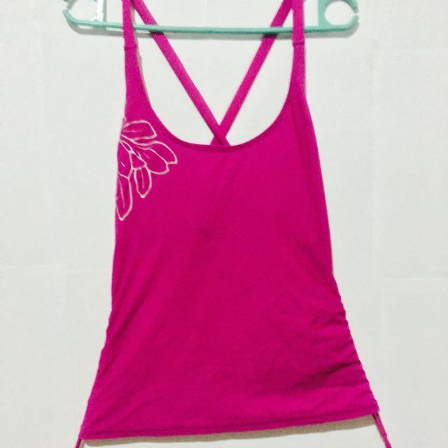 Magenta Swimsuit Top