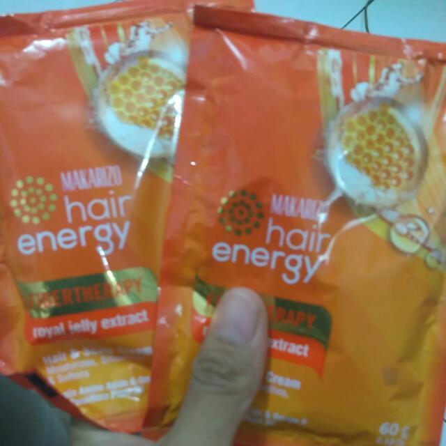 Makarizo Hair Energy Sachet 60gram
