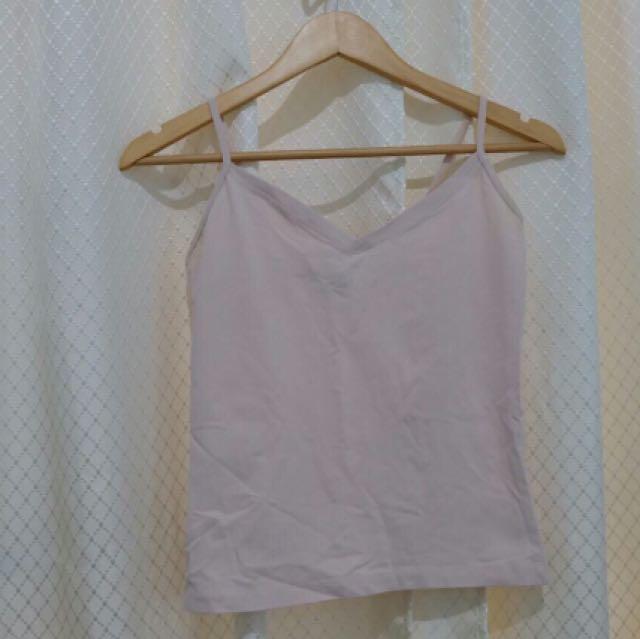 402ec25c07 Mango Basic Nude Pink Tank Top