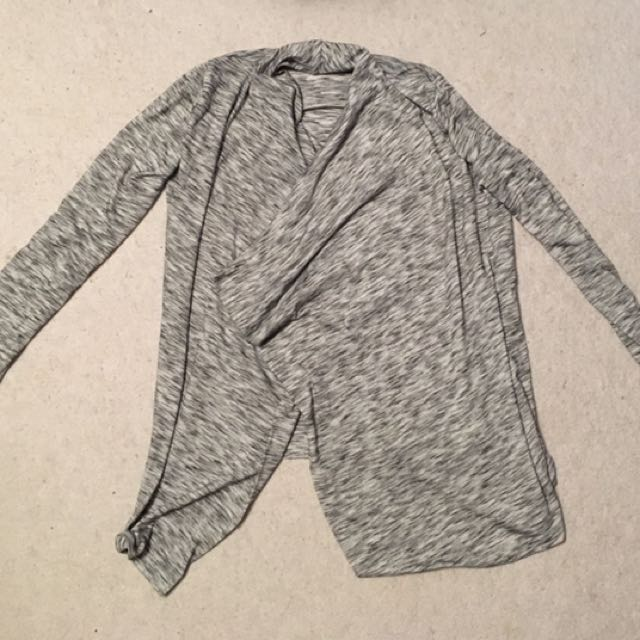 Mottled Gray Cardigan