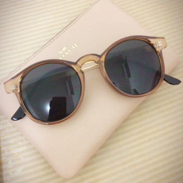 轉賣MUMU SHOP透明膠框太陽眼鏡