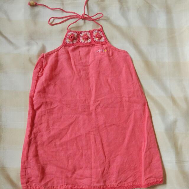 Nafnaf Baby Girl's Dress 2-3T