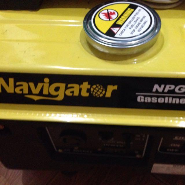 Navigator Gasoline Generator(4electric Fan4lights1Tv
