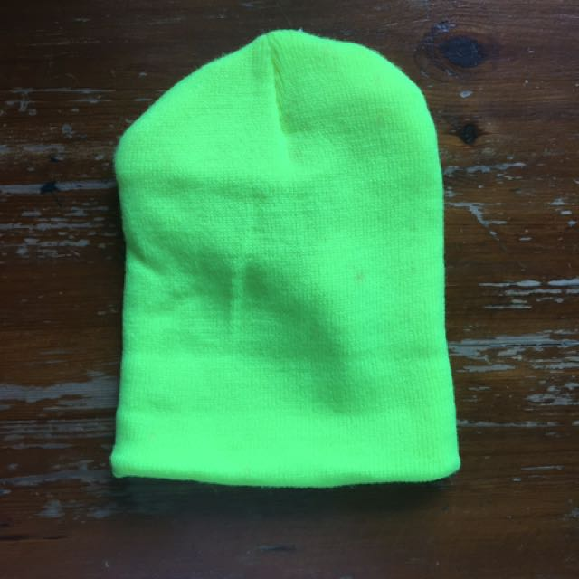 Neon Yellow Green Bonnet