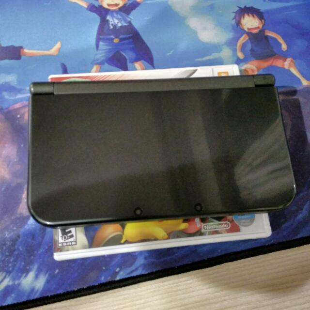 New! Nintendo 3ds XL, Black Version, Non Modded, Comes With 4gb Sd Card!