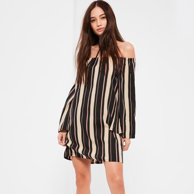 Off-Shoulder Missguided Dress