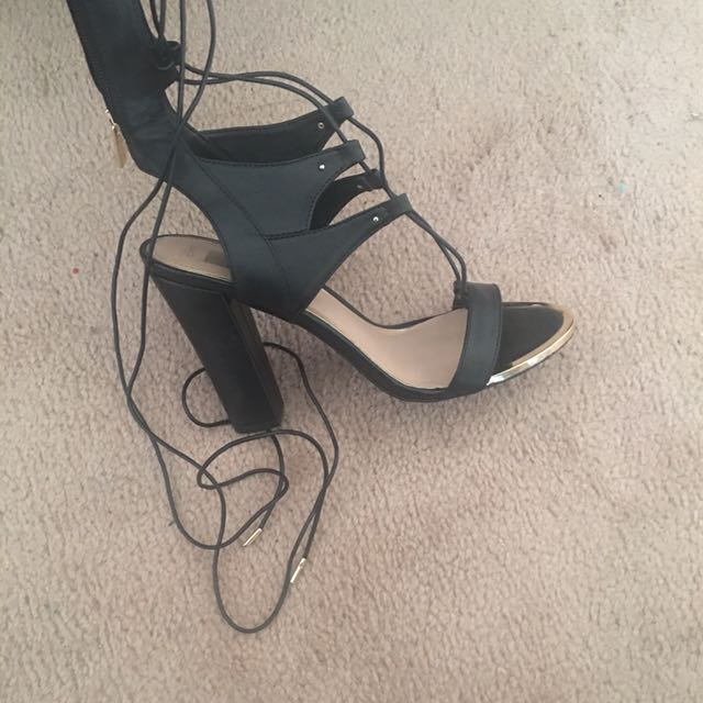 Lace Up Shoes From Spring