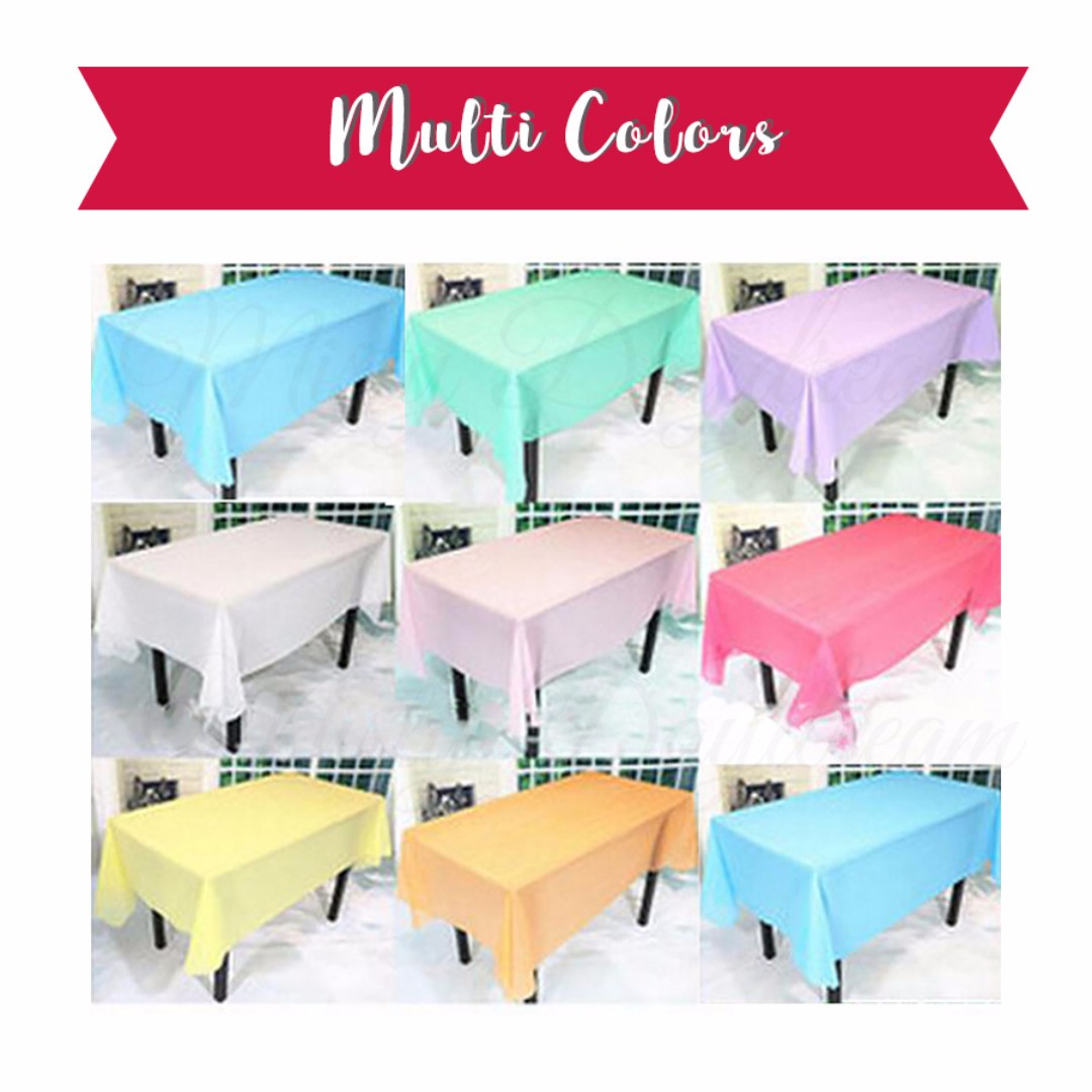 Share This Listing  sc 1 st  Carousell & ㊗ Party Table cloth cover Tablecloth Design \u0026 Craft Others on ...