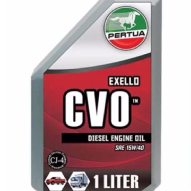 Pertua Exello CVO For Diesel Engines