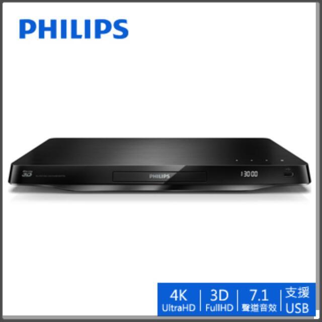 PHILIPS飛利浦DVD 4K藍光3D播放器BDP7750