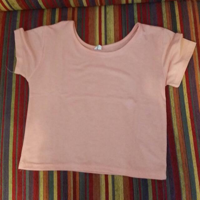 REPRICED Pink Crop top